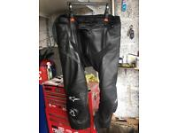 Alpinestars leather trousers