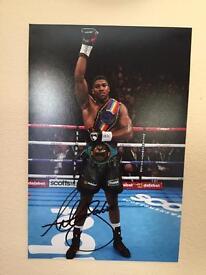Anthony Joshua Signed Photo