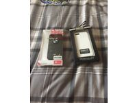 Selling a geniue bmw case n geniue Barbour case fits iPhone 5 or 5s £8 for both thanks for looking