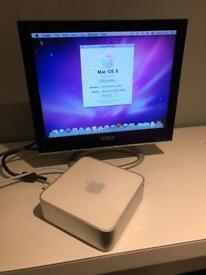 Mac Mini with monitor