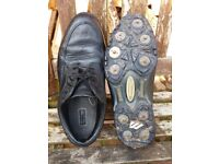 Leather Gol Shoes size 8.5