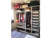 Ikea Pax Wardrobe - 200 x 201 x 58 (WxHxD)