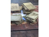 Free council slabs, 31 in total