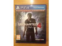 Uncharted 4. A thiefs End. PS4