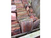 Reclaimed handmade Rosemary roof tiles