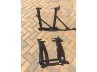 Mercedes Benz cycle stands