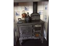 Old Victorian Stove and Chimney