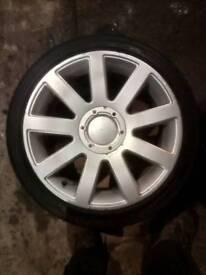 5x100 5x112 audi reps 17s alloy wheels