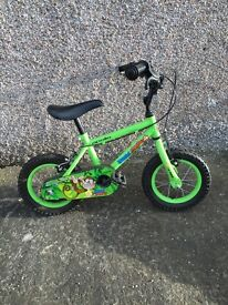 Kids 12 inch bike.