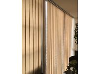 Vertical Blinds in Cream Colour