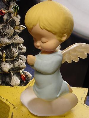 1989 HALLMARK ~ BLUEBELL ~ Mary's Angels #2 in Series CHRISTMAS ORNAMENT A+nobx