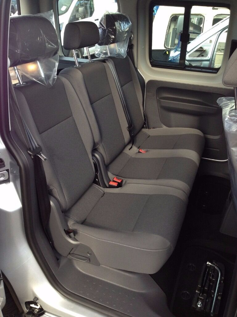 Brand New VW Caddy Van Rear Seats Retro Fit Conversion 5 Seater