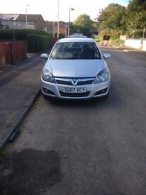 Vauxhall Astra 07 1.6 sxi