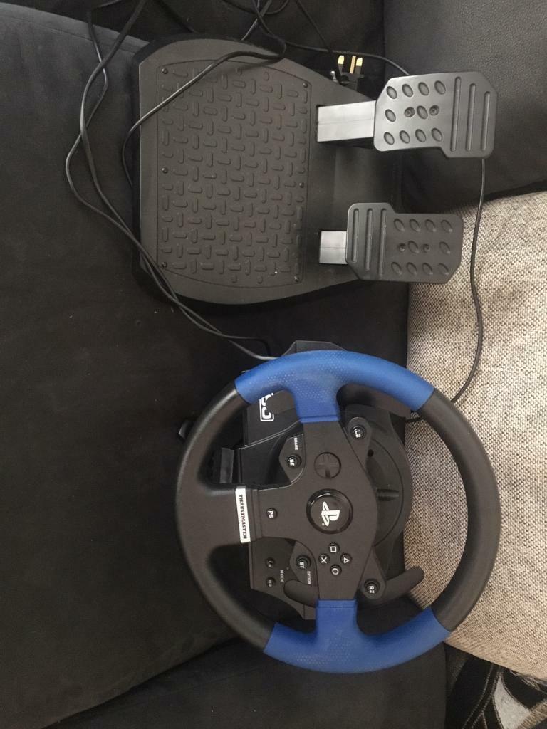 Thrustmaster T150 Racing Wheel Peddles Ps4 Ps3 Worth 130 On Ebay In Liverpool Merseyside Gumtree