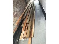 £1500 worth for £175 new timber.solid door casings, picture rail, skirting board, lengths of timber.