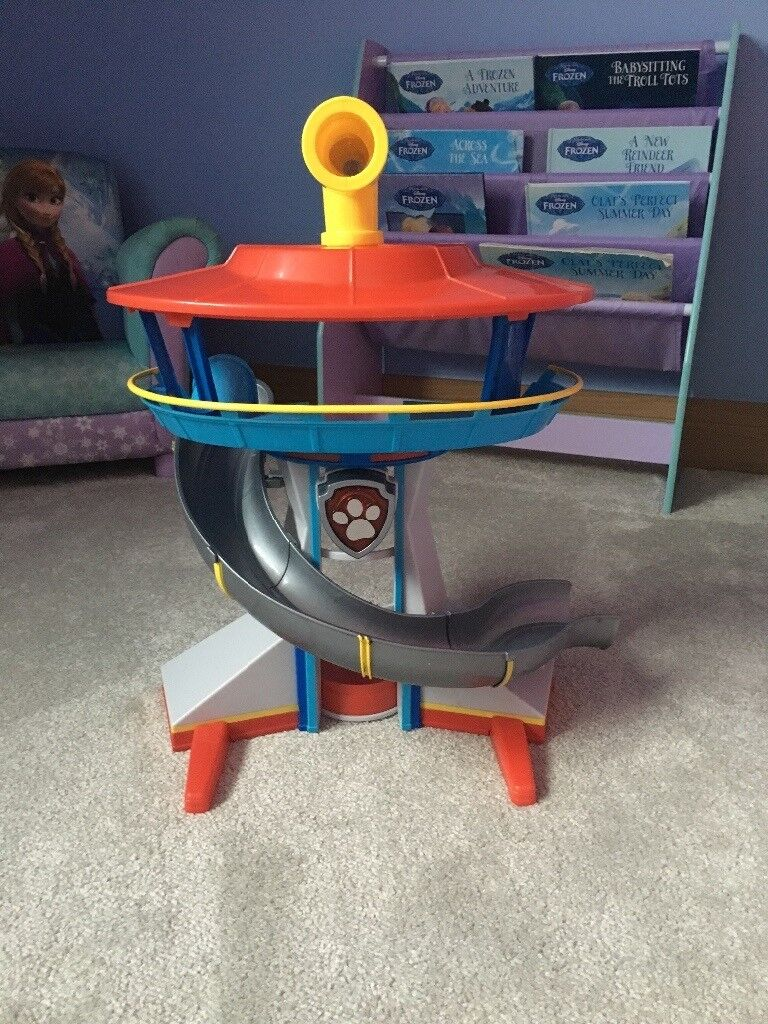 Paw patrol lookout tower