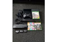 Xbox one 500GB + 3 games + Xbox one Kinect Sensor + 3 extra battery packs