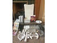 2 x wii consoles, loads of accessories and games!