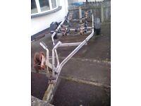 Snipe Boat Trailer 2 wheel - Roller Coaster