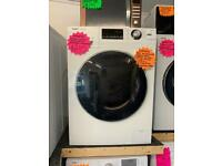 New white haier 10kg load washing machine 1400 spin