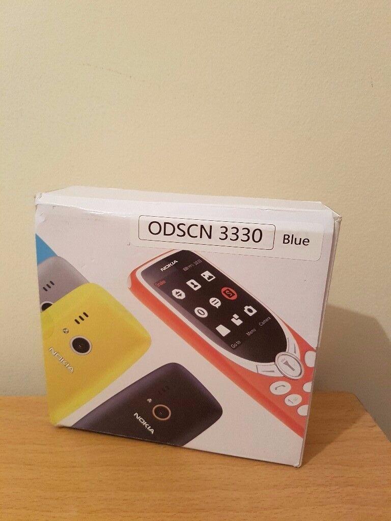 "DUAL SIM MOBILE PHONE, ODSCN 3330, 2.4"", Blue, Unlocked"