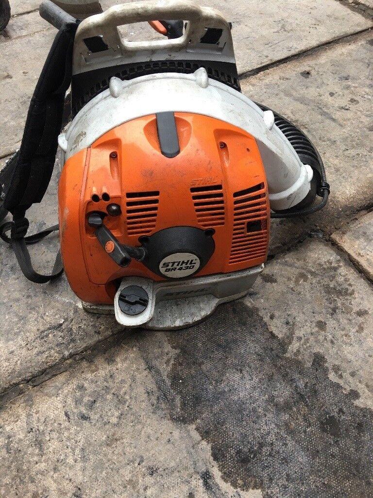Stihl BR430 backpack leaf blower 2012 model