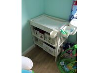 IKEA Gulliver Changing Table plus accessories in very good condition