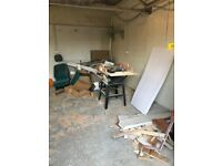 Workshop to let 17 x 17 ft