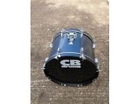 CB Drum Kit (Blue) with Pads and fittings