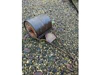 Vintage cast iron roller (small)
