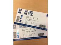 Scotland v Ireland six nations 4th Feb 2 tickets (Murrayfield Stadium, Edinburgh)