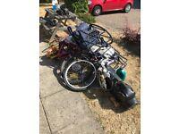 Free scrap metal, bike parts