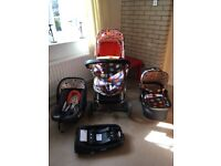 Cosatto giggle fable pram/pushchair travel system