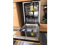 """NEFF INTERGRATED DISHWASHER """"SLIMLINE"""" LESS THAN 2 YEARS OLD ALL THE HOSES WITH IT WORKS PERFECTLY"""