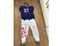 Halloween Costume - Zombie Footballer - men's large