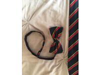 Royal Marines Bow Tie and Cumberbund