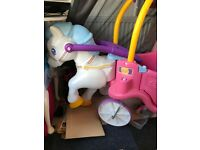 Little tikes horse and carriage