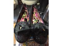 Irregular Choice shoes size 41 worn once hour