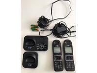 BT Digital Cordless, Nuisance Call Blocker with Answering Machine, Twin