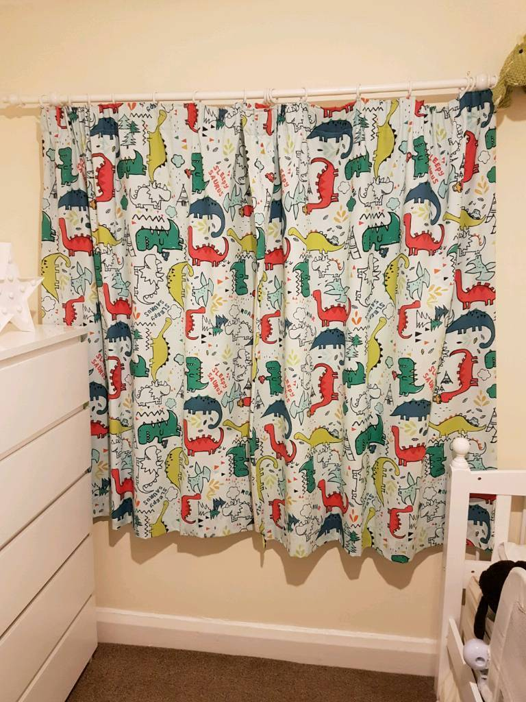 Dylan The Dinosaur Curtains And Bedding