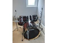 Tama Superstar Hyperdrive drum kit maple shell