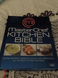 Masterchef Kitchen Bible cookbook - new