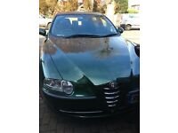 Alfa Romeo 147 T Spark - Green. Very low mileage. Full years MOT. Electric Windows. Air con.