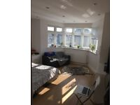 Bedsit an a new 3 bed flat in Golders green