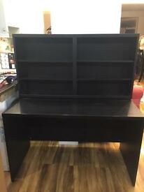 Black IKEA study table / desk Good condition