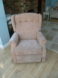 Lazyboy reclining/swivel/rocking chair