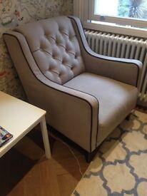 Bargain Wayfair armchair in great condition