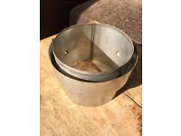 6 inch flue adapter - NEW