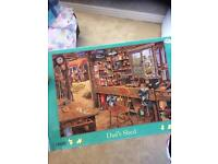 Jigsaw puzzle 1000 pieces