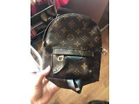 Louis Vuitton palms spring MINI back pack